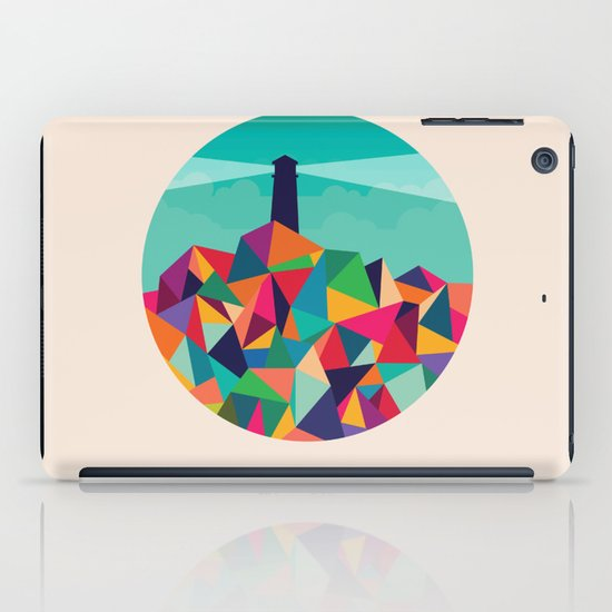 I'll be your lighthouse if you'll be my sea iPad Case