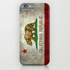 California Flag - Retro … iPhone 6 Slim Case