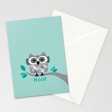 Hoot - Owl in a Tree Stationery Cards
