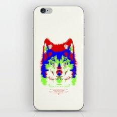 WOLF RGB iPhone & iPod Skin
