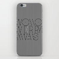 Mono Merry Xmas iPhone & iPod Skin