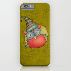 Puki Owl - mustard Slim Case iPhone 6s