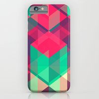 iPhone Cases featuring geometric II by aftr drk