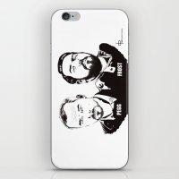 Simon Pegg & Nick Frost iPhone & iPod Skin