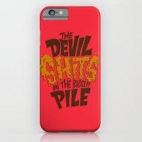The Devil Shits... iPhone 6 Slim Case