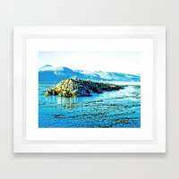 Magnificent nature. Framed Art Print