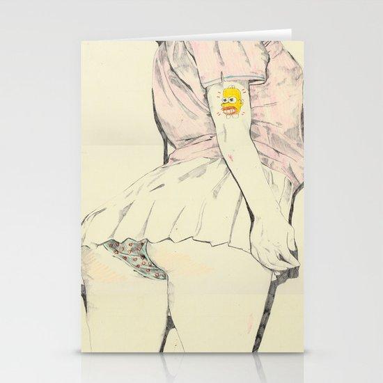 Mr Sparkle Butt Stationery Card