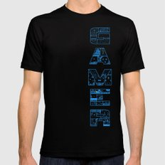 Gamer  Mens Fitted Tee Black SMALL