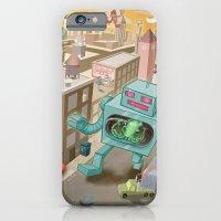 Squid Vs Robot iPhone 6 Slim Case