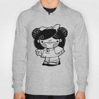 Mafalda Chestnut Girl Hoody