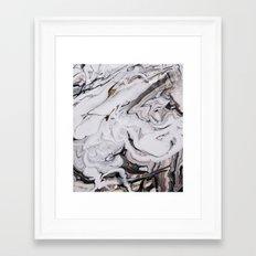 Chic Marble Framed Art Print
