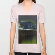Unisex V-Neck featuring October Night On The BER… by CAPTAINSILVA