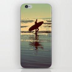 Evening Surf iPhone & iPod Skin