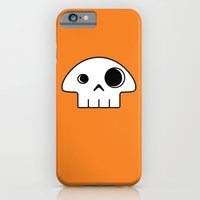 iPhone & iPod Case featuring Mushroom Skull by Pig's Ear Gear