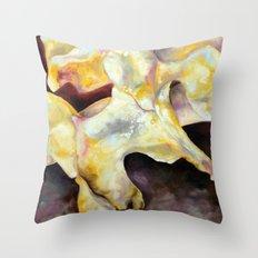 Bone Study Throw Pillow