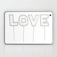 Balloon Love Laptop & iPad Skin