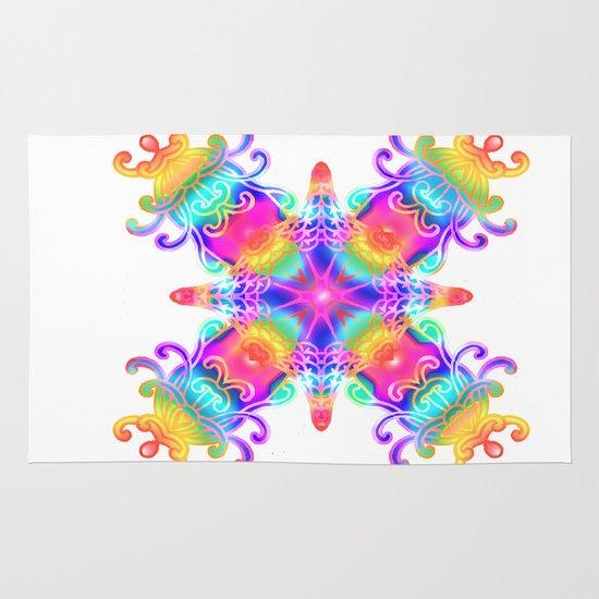 Colours Colours Area & Throw Rug