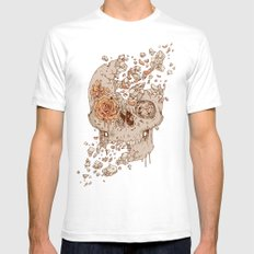 Disintegrate (A Violent Decay):  The Fragile Intensity of Existence Mens Fitted Tee White SMALL