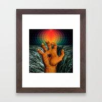 Do you have any napkins? Framed Art Print