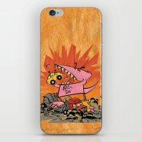 Dennis Dinosaurs's Delig… iPhone & iPod Skin