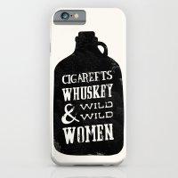 Cigareets & whuskey iPhone 6 Slim Case