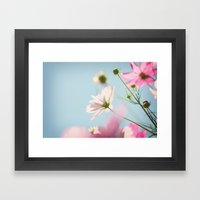 A perfect summer day Framed Art Print