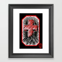 Cross Of Ages Framed Art Print
