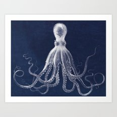 Bodners Octopus Art Print