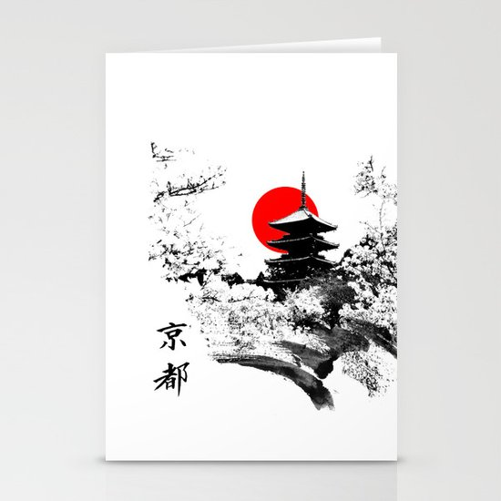 Kyoto - Japan Stationery Card