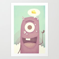 Say Cheese Art Print