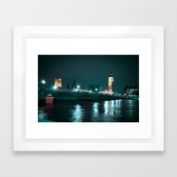 Big Ben And Houses Of Pa… Framed Art Print