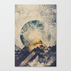 One mountain at a time Canvas Print