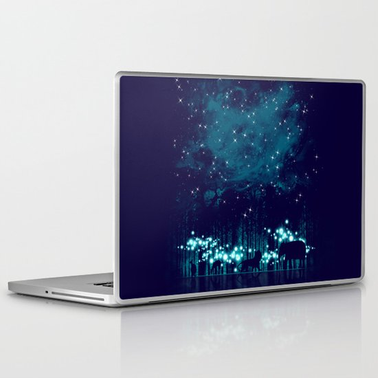 Cosmic Safari Laptop & iPad Skin
