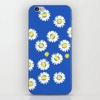 Daisy Flowers iPhone & iPod Skin