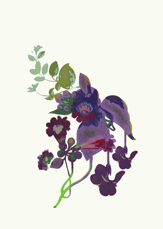 Flor 2 Art Print