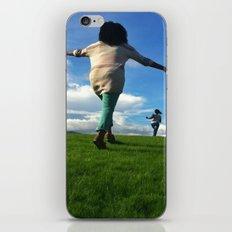 Run for the hills iPhone & iPod Skin