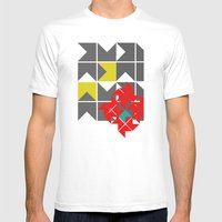 Red Herring Mens Fitted Tee White SMALL
