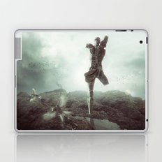 Early morning, goodbye to lost love. Laptop & iPad Skin