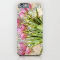 Vintage Tulips iPhone 6 Slim Case
