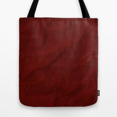 Red paper Tote Bag