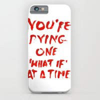 iPhone & iPod Case featuring What if by WRDBNR