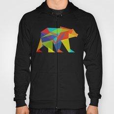 Fractal Geometric bear Hoody