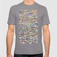 Complete Poke-Pantone  Mens Fitted Tee Tri-Grey SMALL
