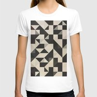 Color Story - B&W Womens Fitted Tee White SMALL