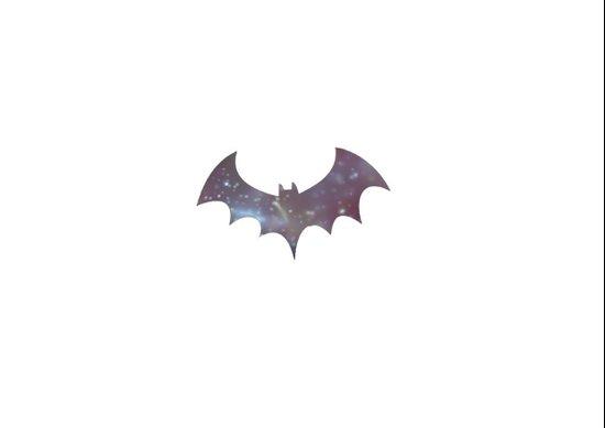 Space bat Art Print