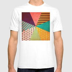 Umbrella Mens Fitted Tee White SMALL
