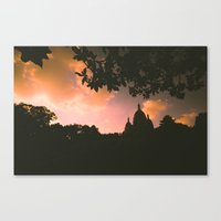 Sacre-Coeur, Paris. Canvas Print