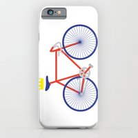 bike iPhone & iPod Cases featuring Bike by Keep It Simple