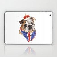 Thank you LONDON - British BULLDOG - Jubilee Art Laptop & iPad Skin