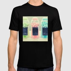 Bubble Gum Black SMALL Mens Fitted Tee